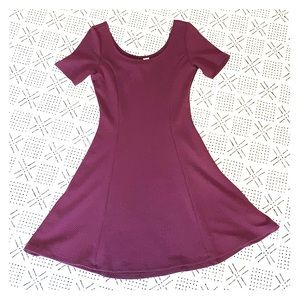 Beautiful H&MPurple Skater Dress w/ Scoop Neckline